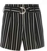 Dorothy Perkins Monochrome Striped O-Ring Shorts