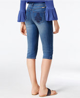 INC International Concepts Curvy Embroidered Skimmer Jeans, Only at Macy's