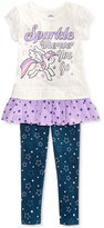 My Little Pony 2-Pc. Shirt & Leggings Set, Toddler & Little Girls (2T-6X)