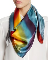 Marc Jacobs Rainbow Silk Scarf