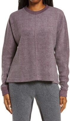 Zella Cozy Fleece High/Low Sweatshirt