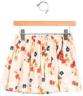Caramel Baby & Child Girls' Floral Print A-Line Skirt