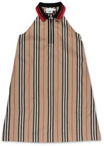 Thumbnail for your product : Burberry Children Icon Stripe Zip-Front Dress