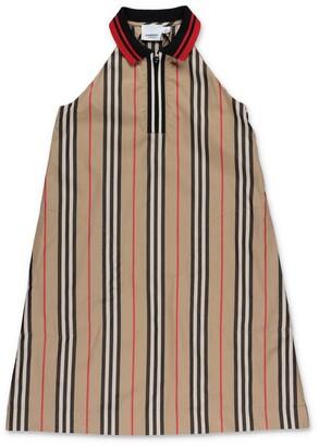 Burberry Children Icon Stripe Zip-Front Dress