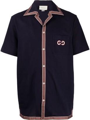Gucci Web trim shirt