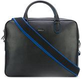 Furla shoulder strap laptop bag - men - Leather - One Size