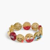 J.Crew Girls' glitter emoji bracelet