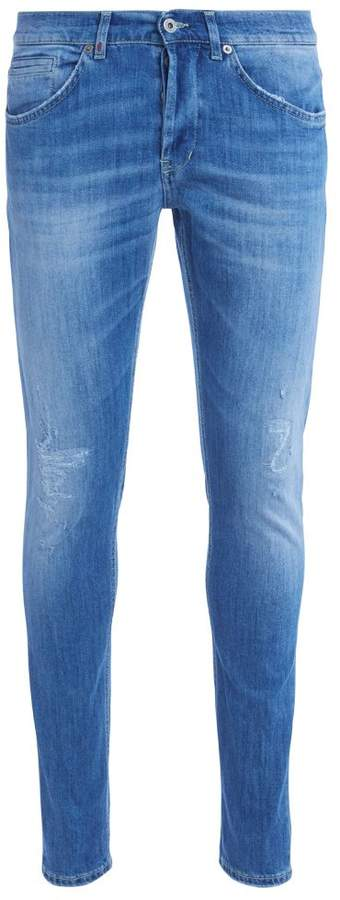 Dondup Don Dup George Light Blue Washed Ripped Jeans