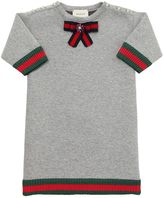 Gucci Doubled Cotton Jersey Dress