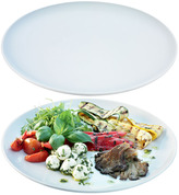 LSA International Dine Charger/Serving Coupe Plate Set of 2