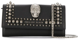 Philipp Plein studded skull crossbody bag