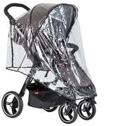 Phil & Teds Phil and Teds Stroller Cover/canopy Clear
