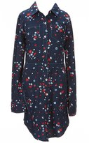 Levi's s Big Girls 7-16 Floral Button-Down Dress