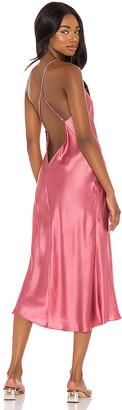 Amanda Uprichard x REVOLVE Holley Midi Slip Dress