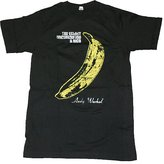 Impact Men's Velvet Underground Distressed Banana Short Sleeve Jersey T-Shirt