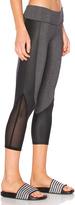 So Low SOLOW Concave Capri Legging