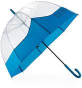 Hunter Moustache Bubble Umbrella, Ocean Blue