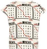 J.w.anderson Wordsearch-print Cotton T-shirt