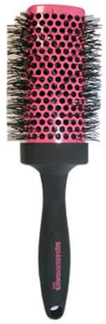 Denman Squargonomics Square Barrel With Crimped Bristle Dsq5 Jumbo 53mm Pink