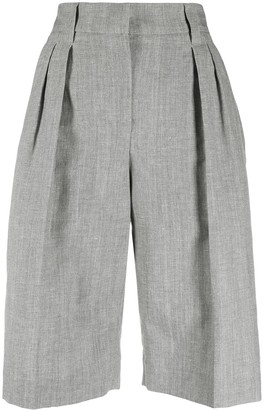 Brunello Cucinelli Pleat Front Shorts