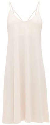 Skin Odelle Pima-cotton Jersey Slip Dress - Light Pink