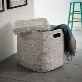 west elm Metallic Woven Oversized Basket