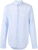 Theory Rammy shirt - men - Cotton/Linen/Flax - S