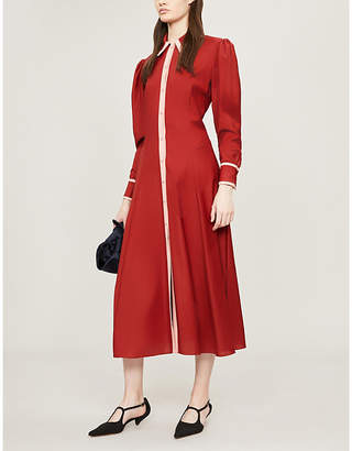 Emilia Wickstead x Woolmark Lucius wool midi dress