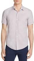 BOSS Micro Print Regular Fit Button Down Shirt