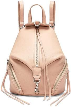 Rebecca Minkoff Mini Julian Convertible Leather Backpack