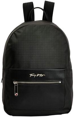 Tommy Hilfiger Fresh Black Zip Around Backpack