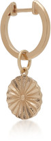 With Love Darling Wheel 14K Gold Earring