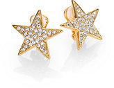 Kenneth Jay Lane Sparkle Star Earrings