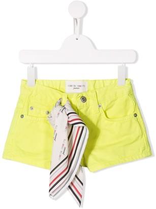 Alberta Ferretti Kids Scarf Detail Shorts