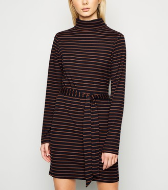 New Look Brave Soul Stripe Jersey Dress
