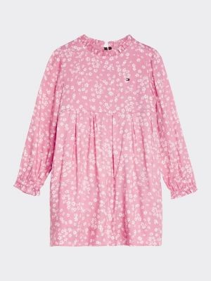 Tommy Hilfiger Ditsy Floral Print Viscose Dress