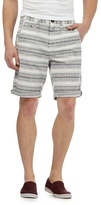 Red Herring Multi-coloured Textured Stripe Shorts