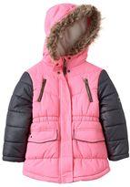 Osh Kosh Girls 4-6x Midweight Puffer Jacket