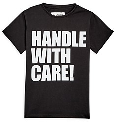 Nununu Boys' Handle With Care Tee - Little Kid