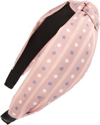 Tasha Knotted Dots Headband