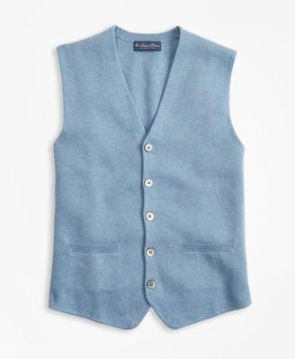 Brooks Brothers Supima Cotton Sweater Waistcoat