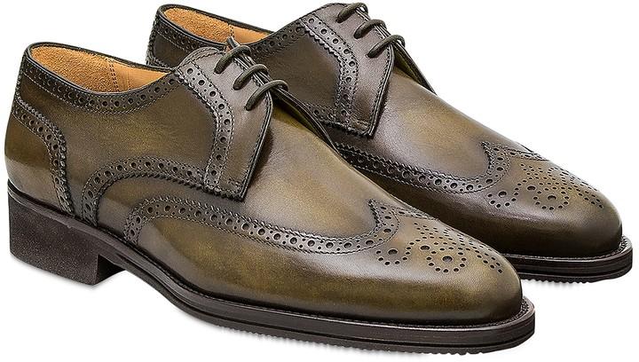 Pakerson Olive Pisa Derby Shoe