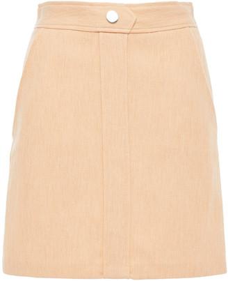 Maje Jakara Twill Mini Skirt