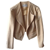 Saint Laurent Beige Cotton Jacket