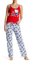 Hello Kitty Print PJ Set