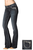 Silver Jeans Co. Tuesday Straight Fit Extended Tab Bootcut Jean