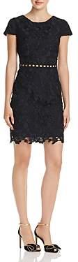 Sam Edelman Guipure Lace Cap Sleeve Dress