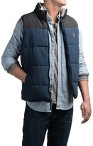 Coleman Quilted Microfiber Color-Block Vest - Insulated (For Men)