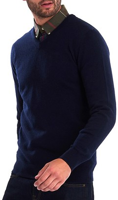 Barbour Essential Lambswool V-Neck Sweater