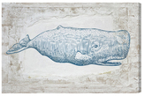 Oliver Gal Blue Whale (Canvas)